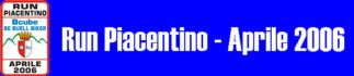 Run Piacentino - Aprile 2006