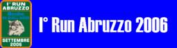 I° Run Abruzzo 2006